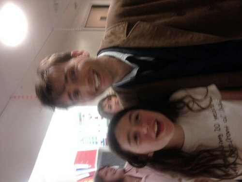 Me meeting David Tennant ♥