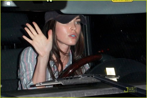Megan out in West Hollywood