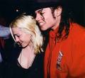 Michael Jackson and Madonna (= - michael-jackson photo