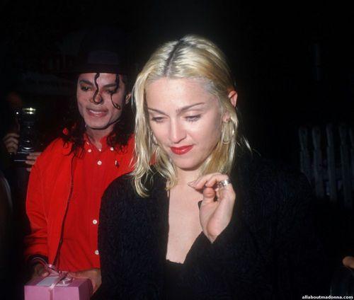Michael Jackson with マドンナ [=