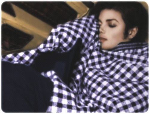 Michael taking a nap