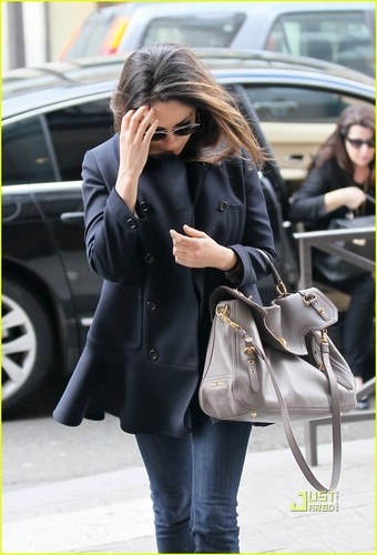 Mila out in Paris