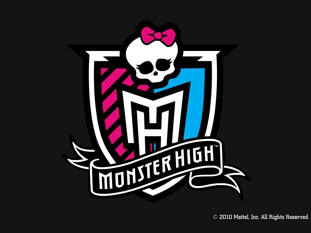 Monster High Crest Wallpaper 1024x768 amp 800x600