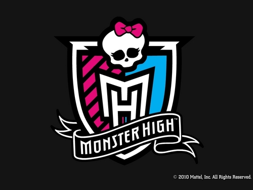 Monster High Crest kertas dinding 1024x768 & 800x600