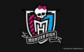 Monster High Crest Hintergrund 1280x800