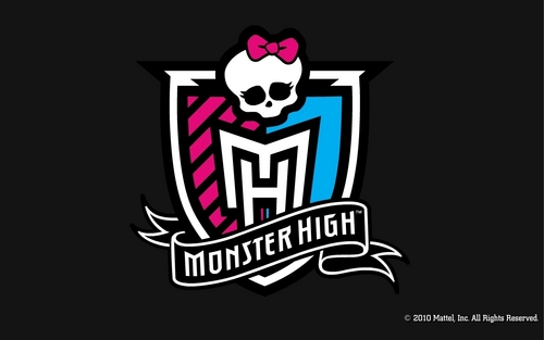 monster high fondo de pantalla possibly containing a jersey called Monster High Crest fondo de pantalla 1280x800