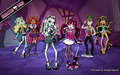 Monster High Group 1280x800 - monster-high wallpaper