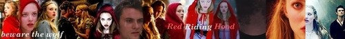 Red Riding Hood photo entitled My RRH banner