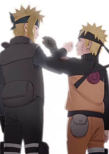 Namikaze Minato & Uzumaki Naruto