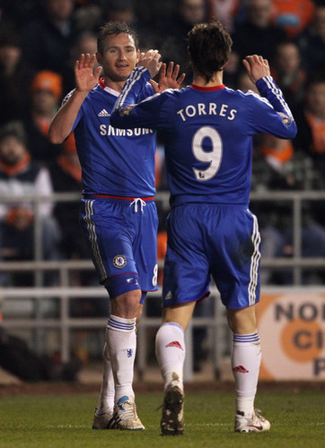 Nando - Blackpool(1) vs Chelsea(3)