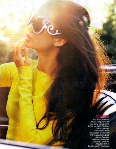 Nina Dobrev - Vogue Magazine