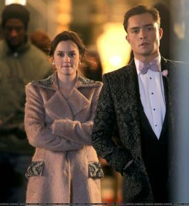 "On the Set of ""Gossip Girl"" - March 7"