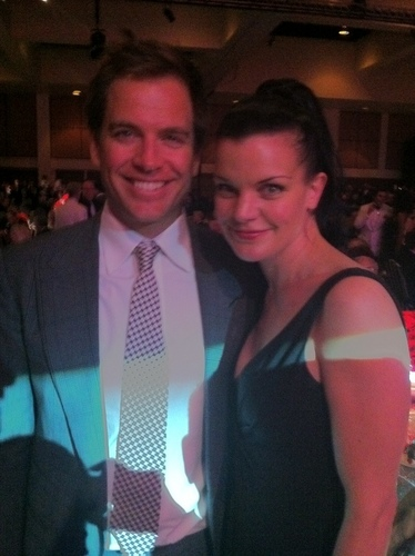 Pauley & Michael Weatherly