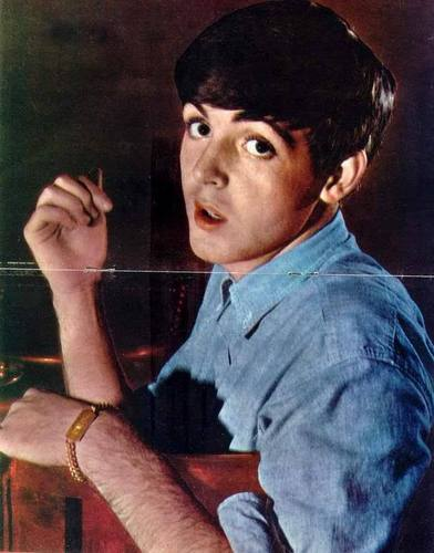 Paul McCartney वॉलपेपर probably containing a sign and a portrait called Paulie !!! प्यार u !