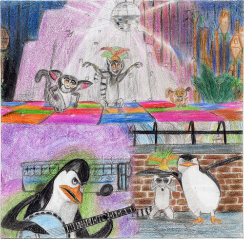 Penguins, Lemurs and music
