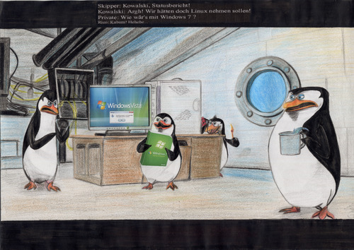 Penguins and computers