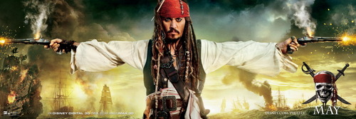 Pirates of the Caribbean 4 OST - Poster