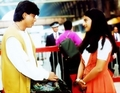 Raj and Simran - dilwale-dulhania-le-jayenge screencap