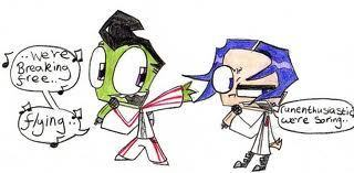Raven And ZIM forver <3