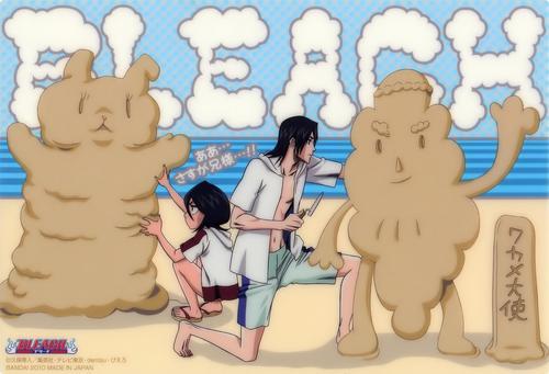 Rukia and Byakuya