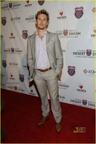 Ryan Kwanten: K-Swiss Desert Smash with James Frain!