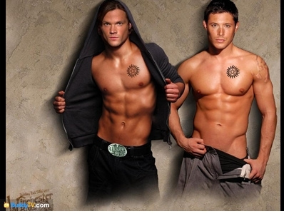 Supernatural wallpaper with a hunk titled Sam and Dean