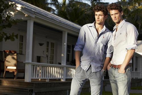 Sean O'Pry & Garrett Neff for Brothers Spring 2011 Campaign