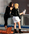 Shakira and her gesture same like ass Nadal - gerard-pique photo