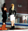 Shakira and her gesture same like keldai Nadal