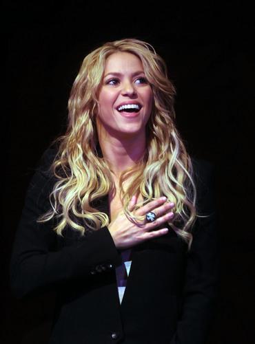 Shakira wedding ring