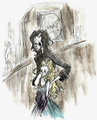 Stayne and Alice - alice-in-wonderland-2010 fan art