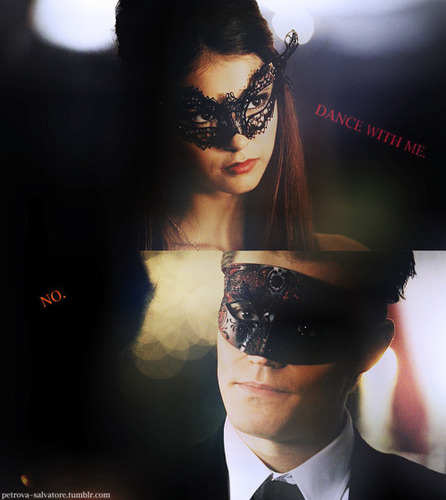 Delena & Steferine wallpaper containing a business suit entitled Stefan & Katherine <3