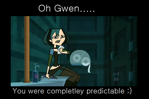 TDA Finale Gwen We Read Your Mind xD
