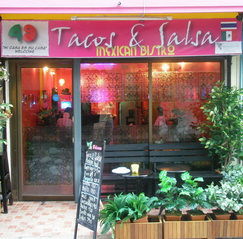 Tacos & salsa Mexican bistro, bistrô
