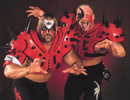 WWE wallpaper entitled The Road Warriors (The Legion of Doom)