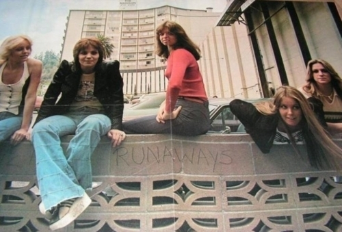 The Runaways wallpaper possibly with a street and a sign titled The Runaways <3