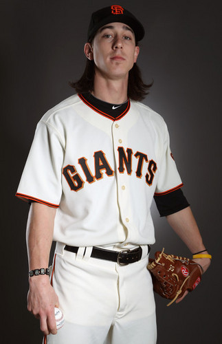 Tim Lincecum 2011 Photo day SF Giants