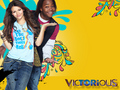 Tori and Andre - victorious wallpaper