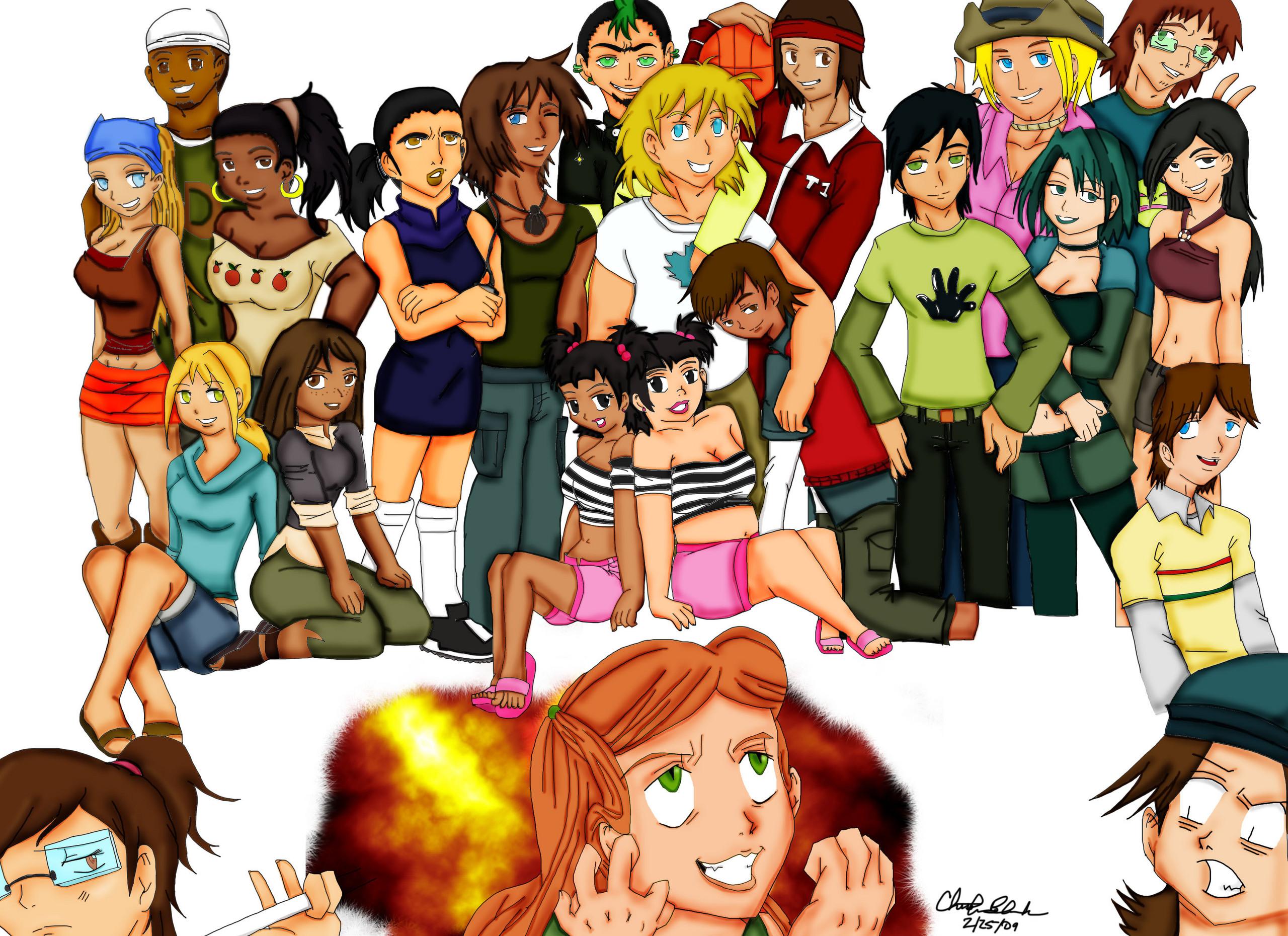 Total Drama Island Season 5 Total Drama Island Anime