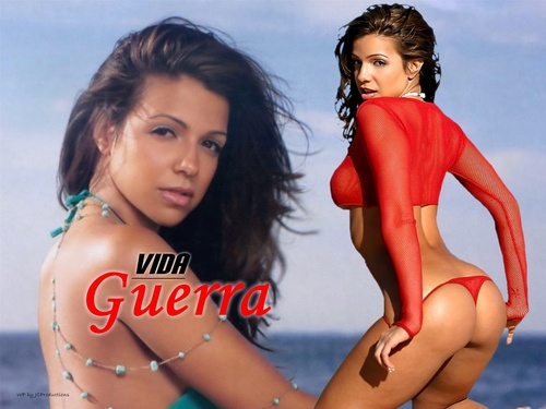 Vida Guerra پیپر وال possibly containing a bikini, a maillot, and a swimsuit کا, سومساٹ titled Vida Guerra