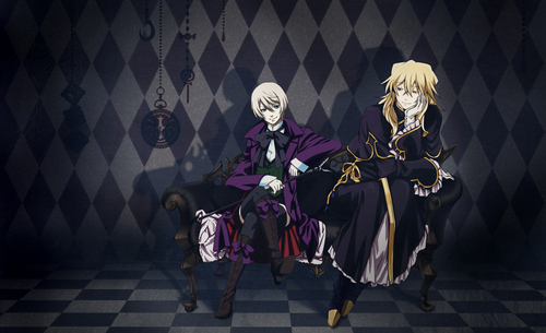 Vincent Nightray and Alois Trancy