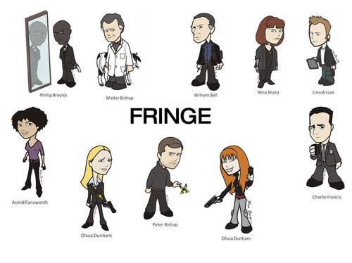 Wallpaper Fringe toon series