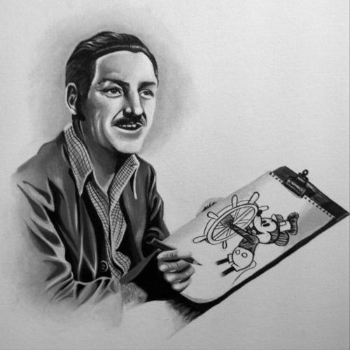 Walt, the man behind the magic.