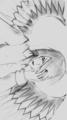 Winged Anime Off Internet :) - anime fan art