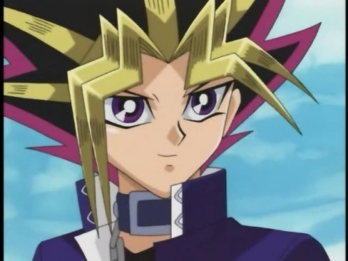Yami Yugi wallpaper possibly containing anime titled Yami's cute