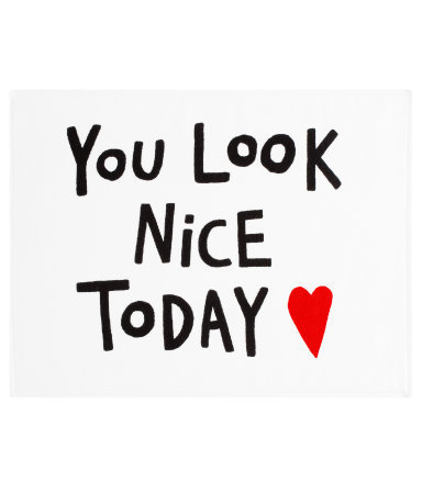 你 look Nice