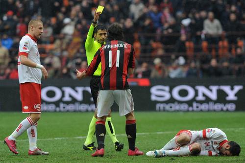 Z. Ibrahimovic (Milan - Bari)