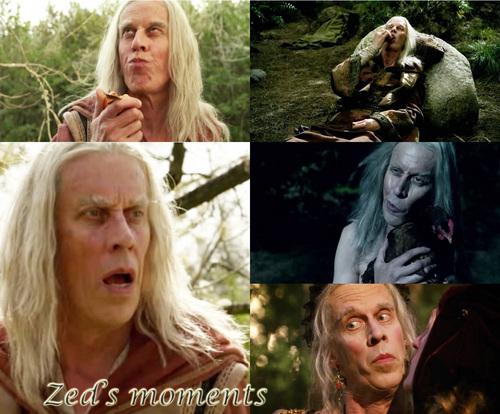 Zed's moments