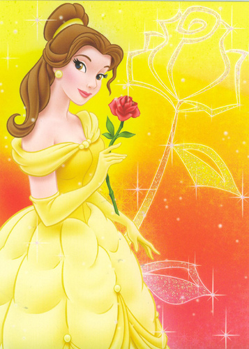 Beauty and the Beast wallpaper possibly with a bouquet called belle