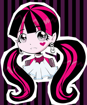 Monster High wallpaper possibly with anime titled draculaura